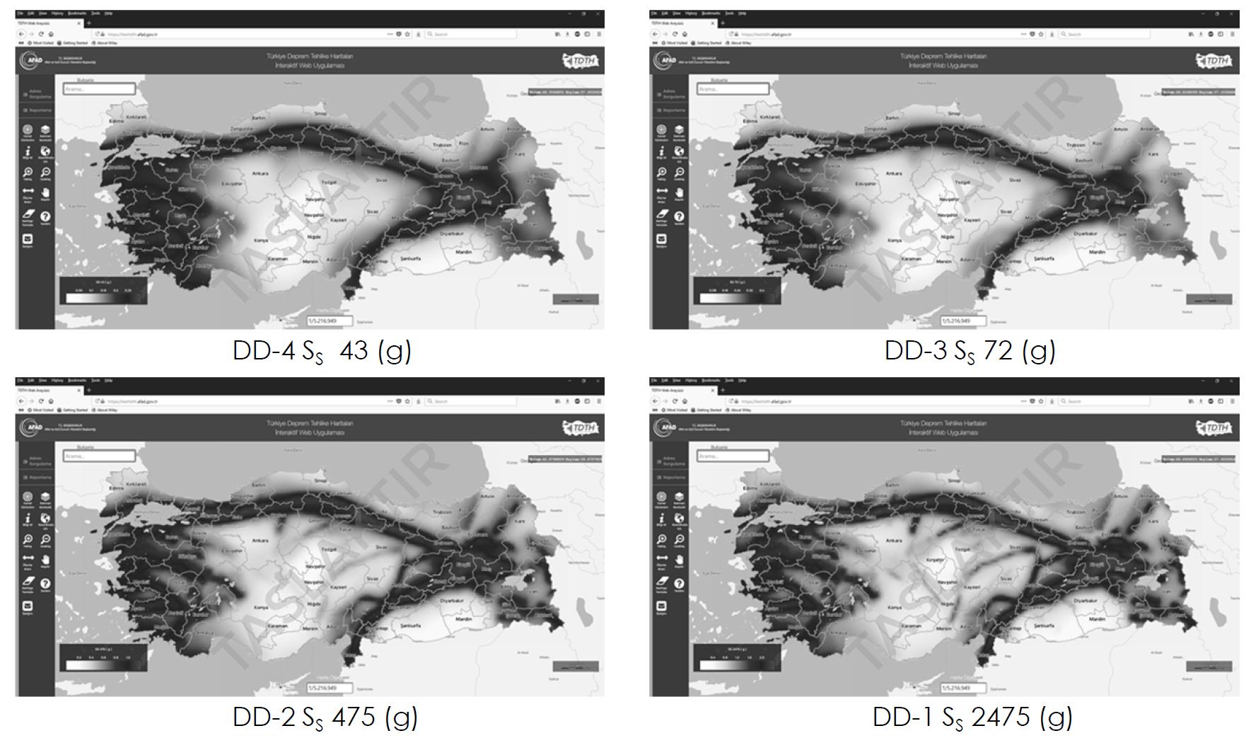 Türkiye Deprem Tehlike Haritası Kullanımı