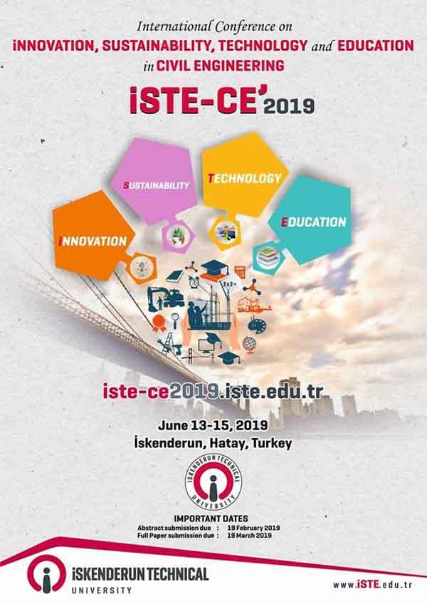 Uluslararası İnşaat Mühendisliği'nde İnovasyon, Sürdürülebilirlik, Teknoloji ve Eğitim Konferansı