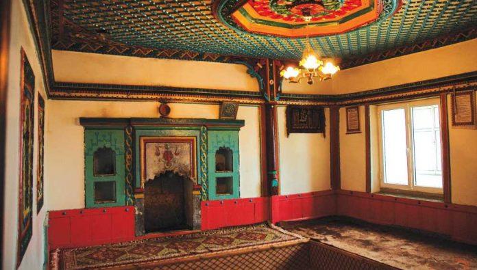 sariçiçek köy odaları